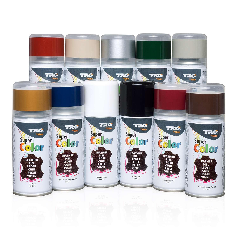 Spray de couleur pour cuir lisse et similicuir UN1950, 150 ml