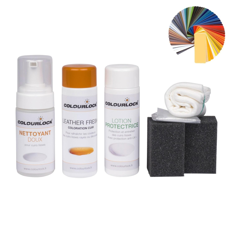 Entretien Canapé Cuir Naturel kit de coloration et d'entretien pour cuirs lisses colourlock