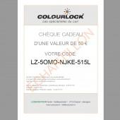 Chèque cadeau COLOURLOCK®, 50 euros