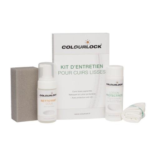 Kit d'entretien COLOURLOCK pour cuirs lisses avec Lotion protectrice