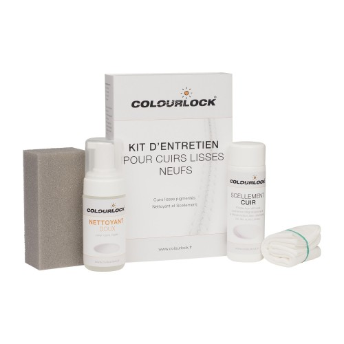 Kit d'entretien COLOURLOCK pour cuirs lisses neufs avec scellement